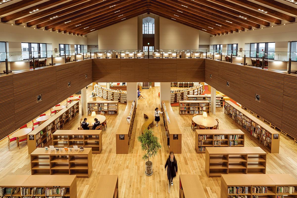 大妻多摩中学高等学校 図書室 – キハラ株式会社:図書館用品 図書館 ...