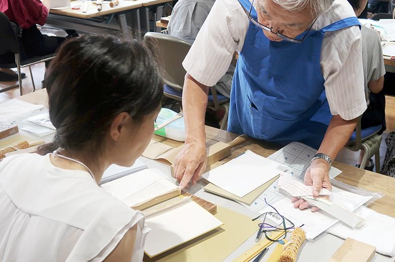 修理の実習©キハラ株式会社