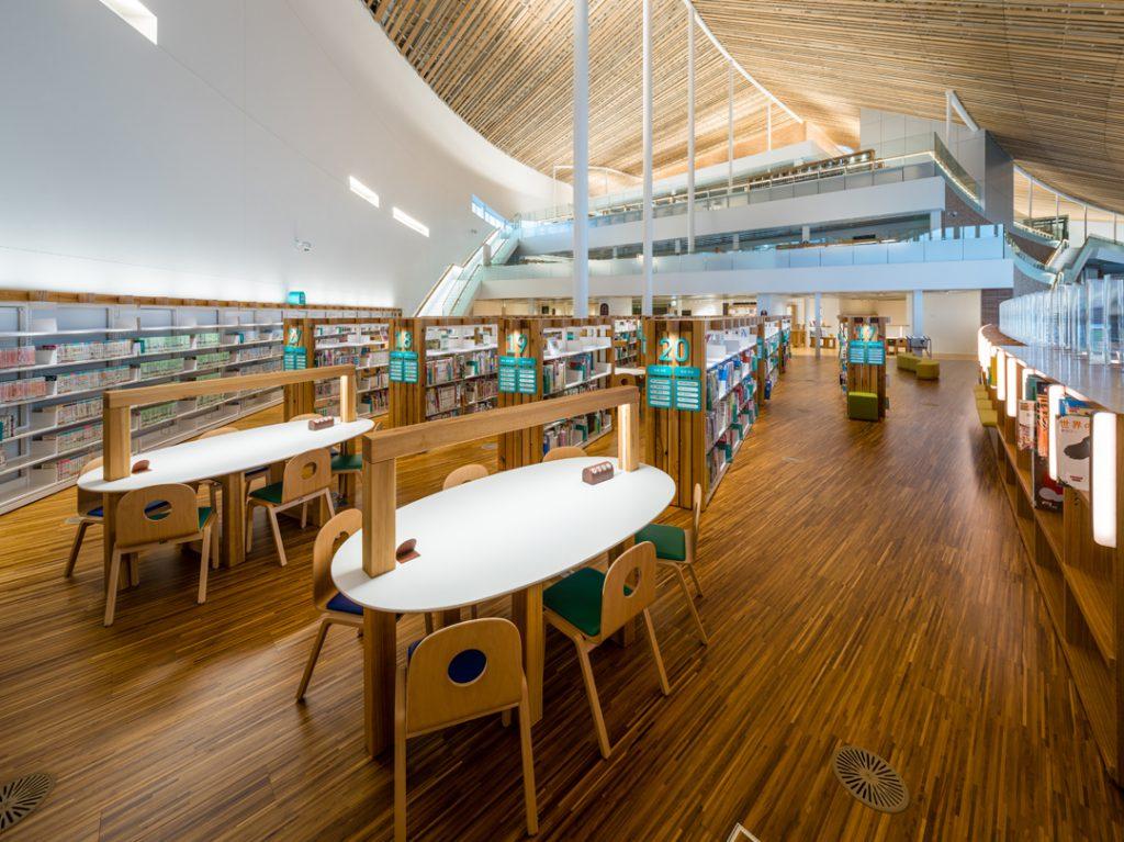 ミライo n 図書館 ① © キハラ株式会社
