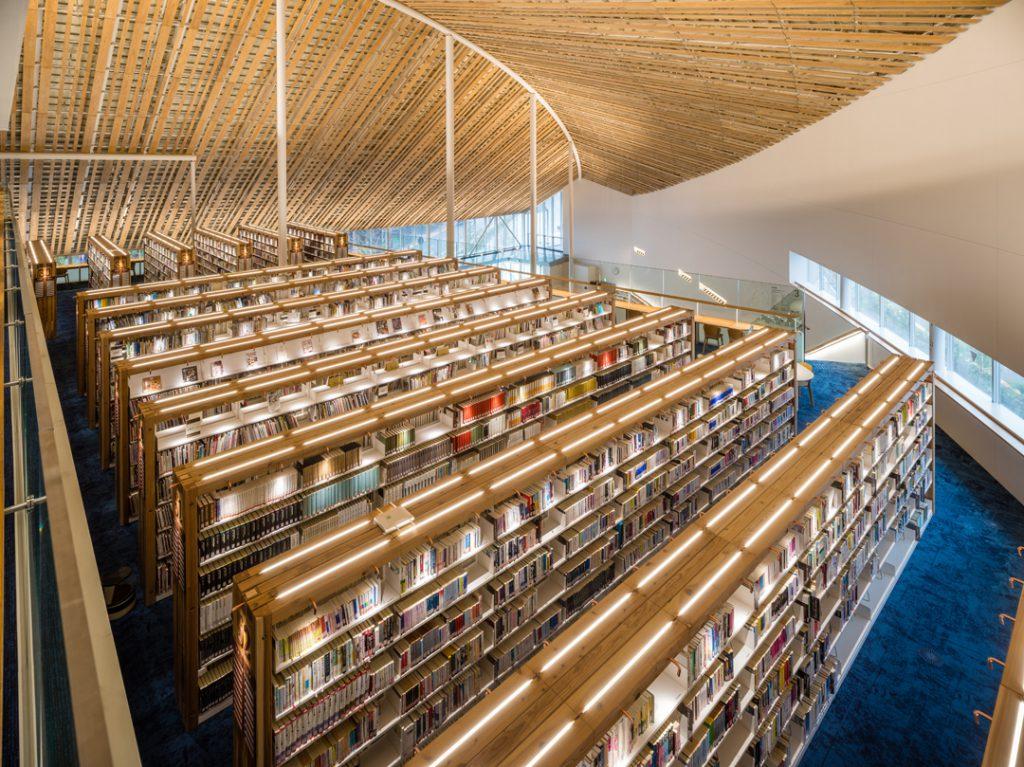 ミライon 図書館② ©キハラ株式会社