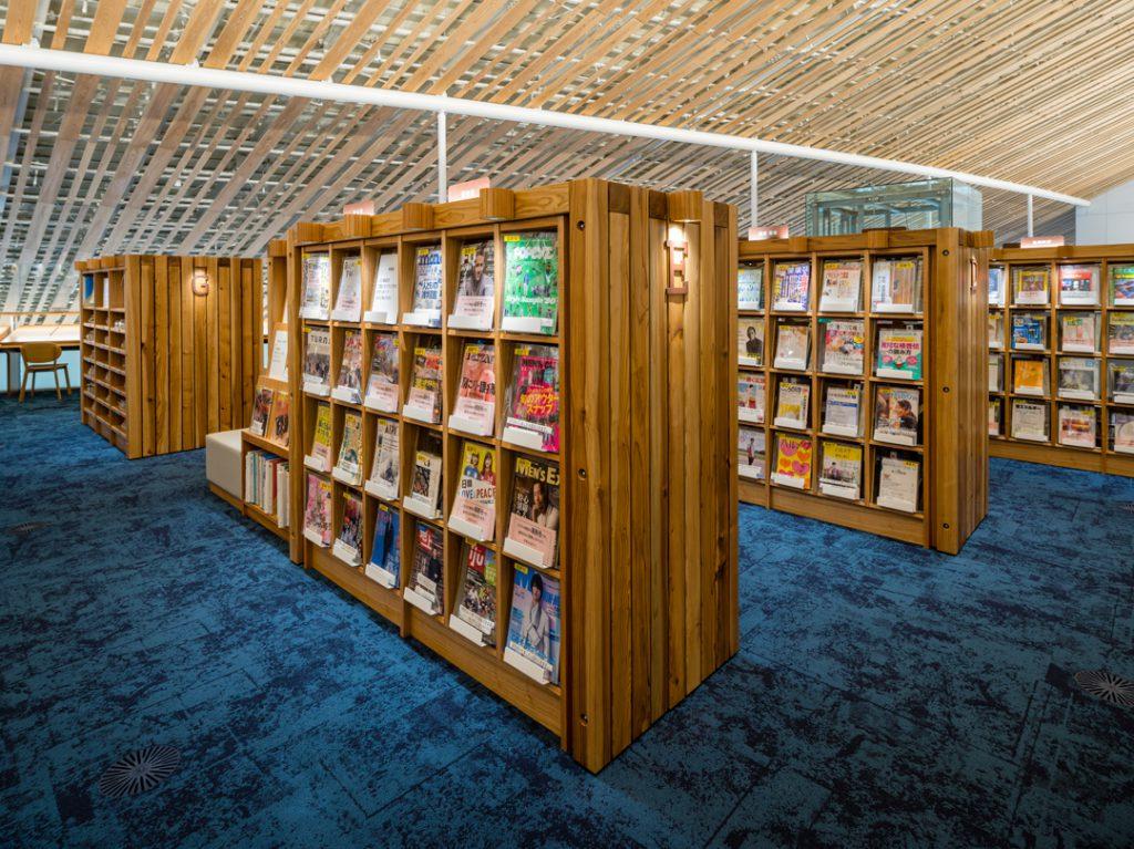 ミライon 図書館③ ©キハラ株式会社