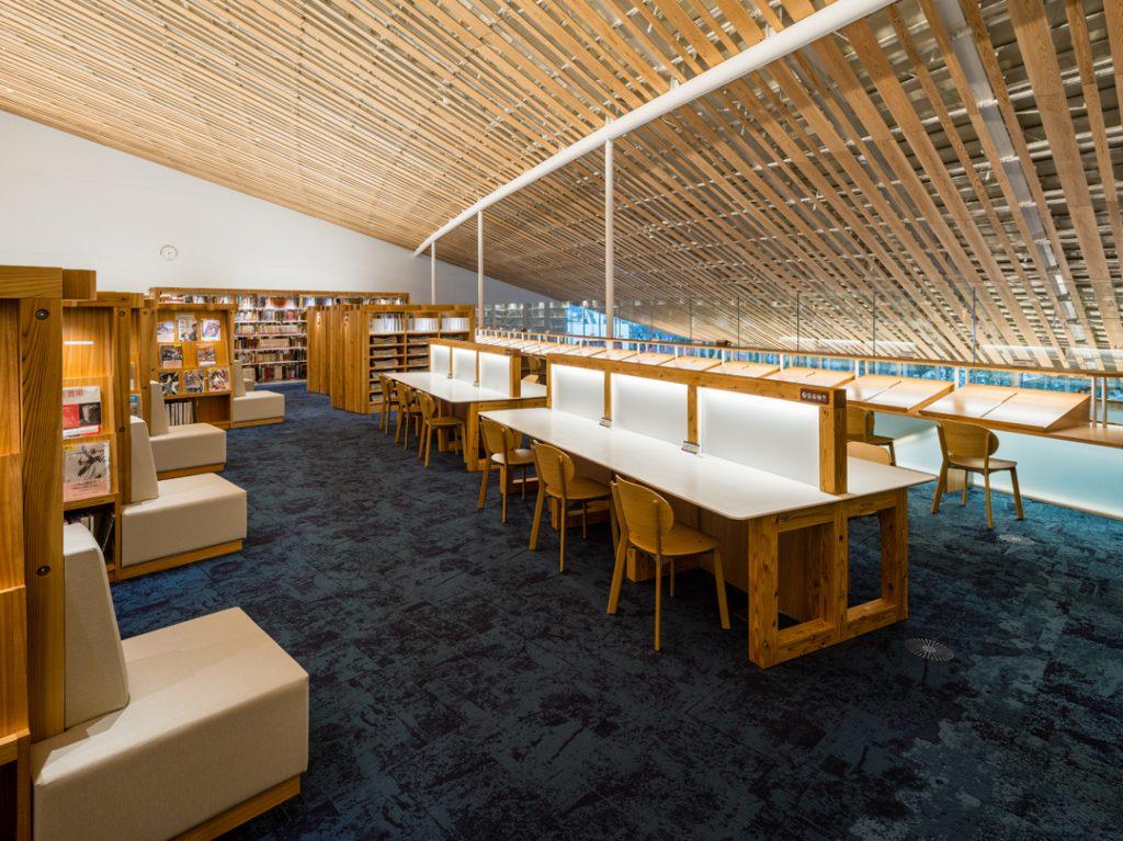 ミライon 図書館④ ©キハラ株式会社
