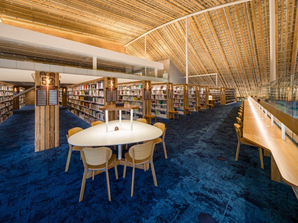 ミライon 図書館⑥ ©キハラ株式会社
