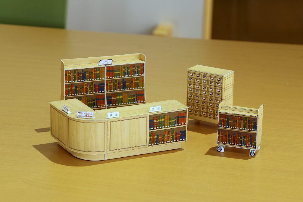 ペーパークラフト4種類 ©キハラ株式会社