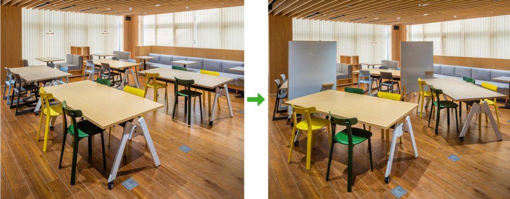 学校図書館使用イメージ ©キハラ株式会社